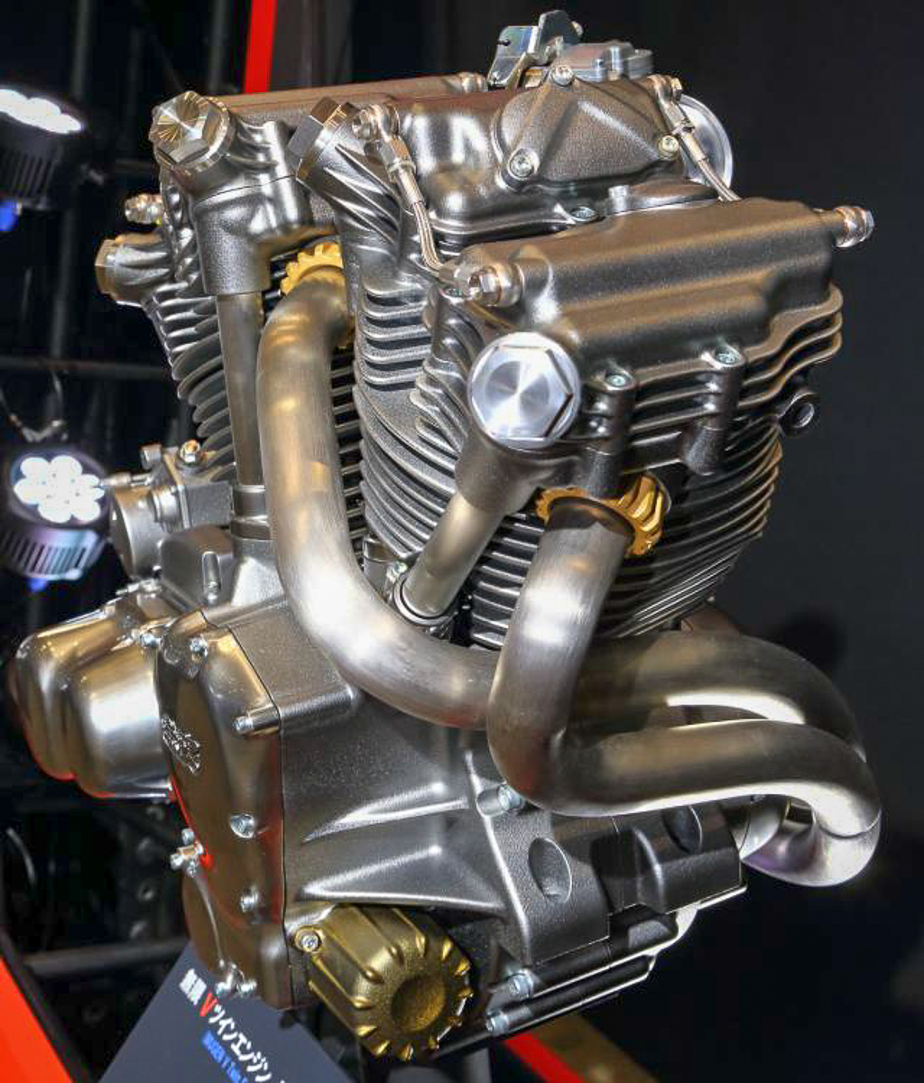V Twin Quad Engine: Mugen Introduces 1,400cc V-twin Motorcycle Engine
