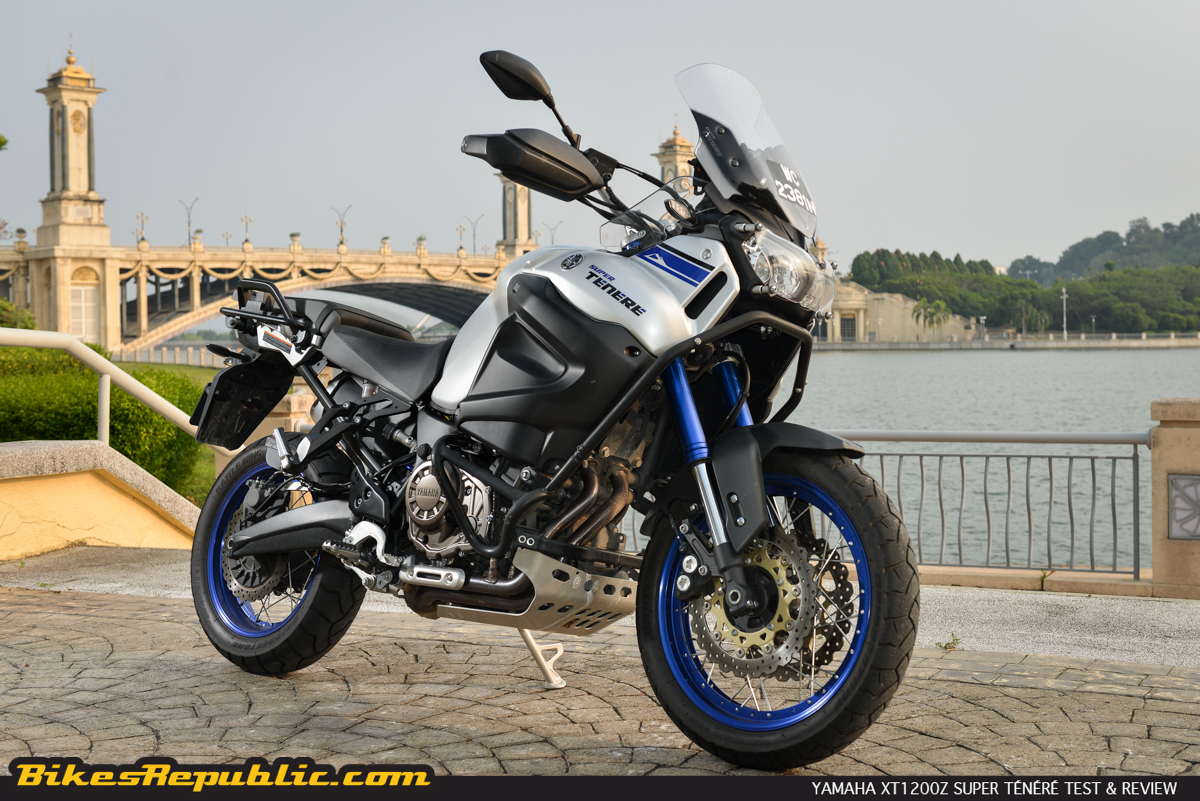 yamaha xt1200z super t n r 2015 test review bikesrepublic. Black Bedroom Furniture Sets. Home Design Ideas