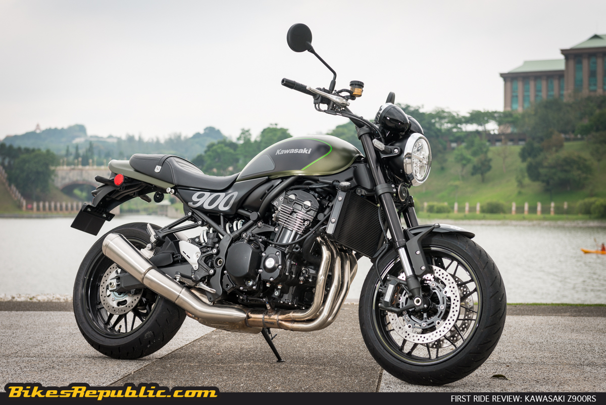 first ride kawasaki z900rs bikesrepublic. Black Bedroom Furniture Sets. Home Design Ideas