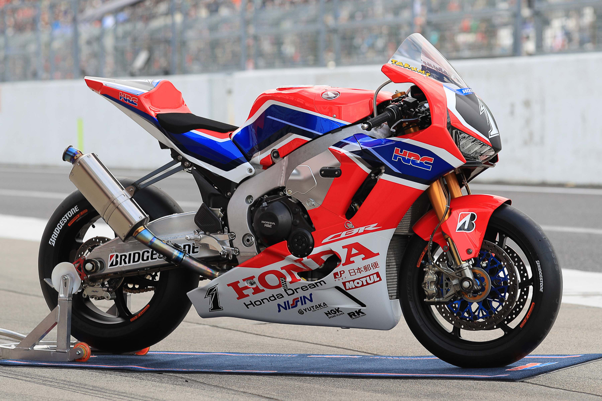 2018 Honda CBR1000RRW ready for Suzuka - BikesRepublic