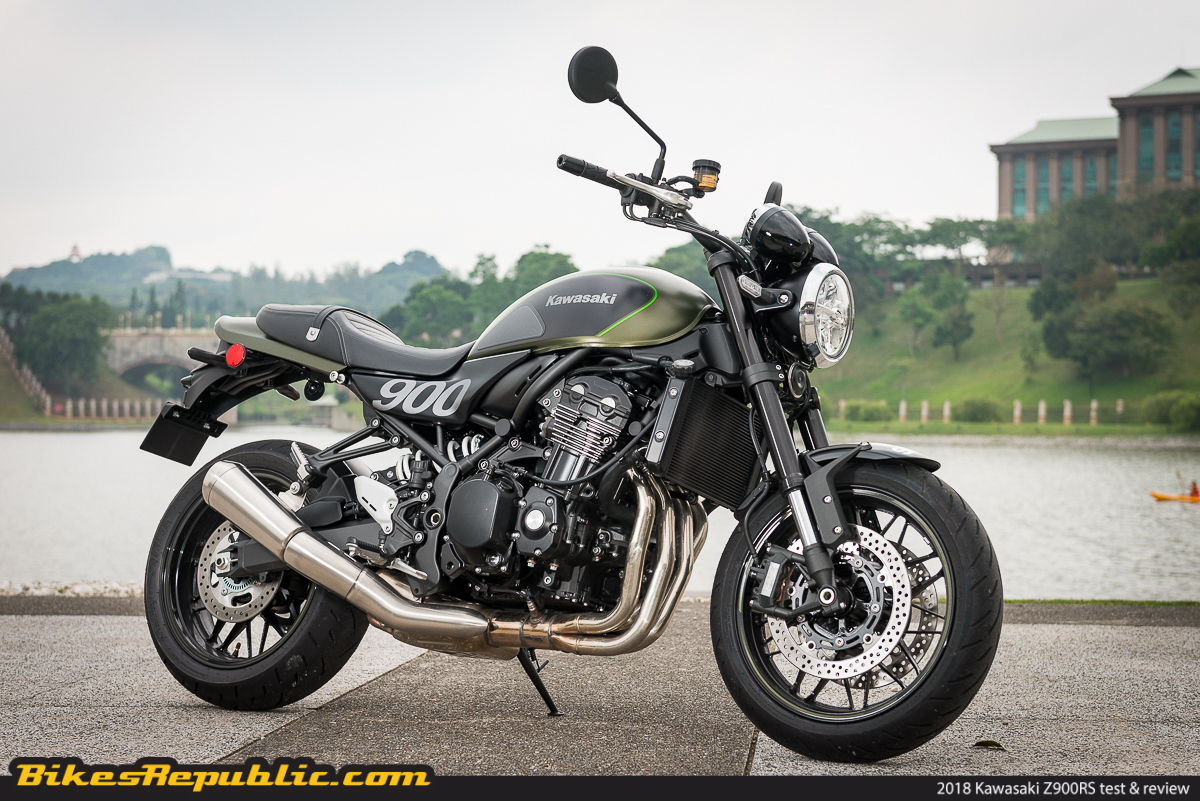 tested 2018 kawasaki z900rs test review bikesrepublic. Black Bedroom Furniture Sets. Home Design Ideas