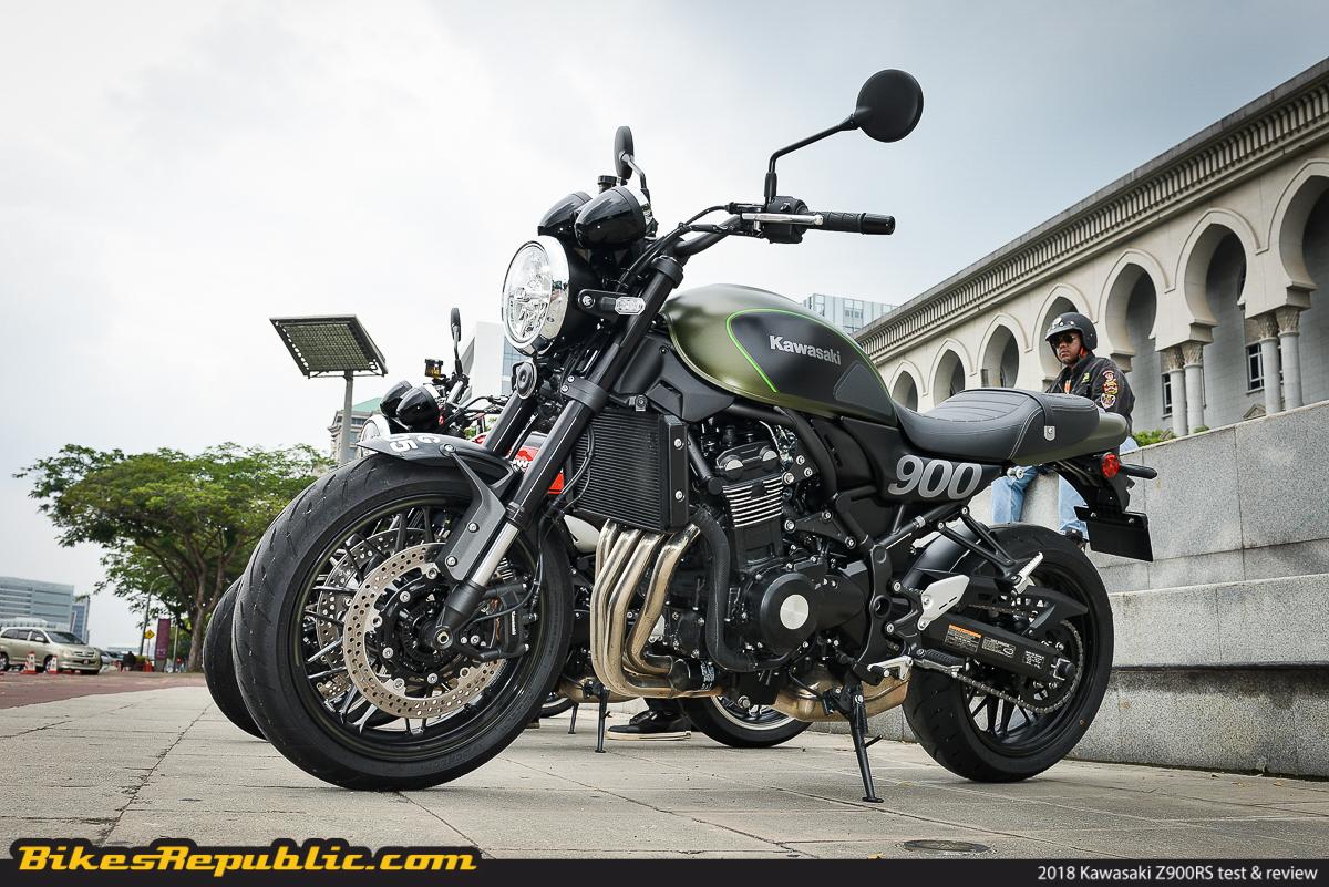 Tested 2018 Kawasaki Z900rs Test Amp Review Bikesrepublic