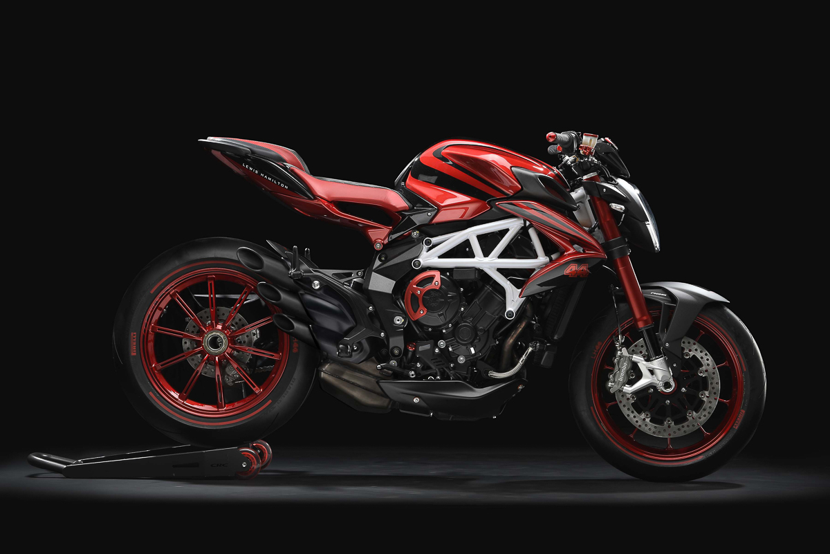 2018 MV Agusta Brutale 800 RR LH44 edition unveiled