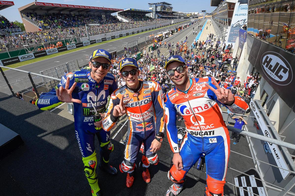 MotoGP: Marc Marquez wins in France; Rossi back on podium!