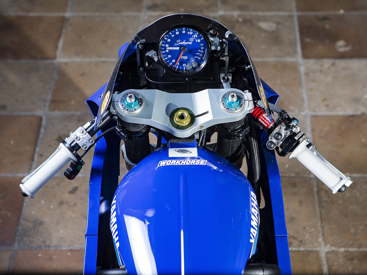 Check out this nitrous-injected Yamaha Yard Built XSR700