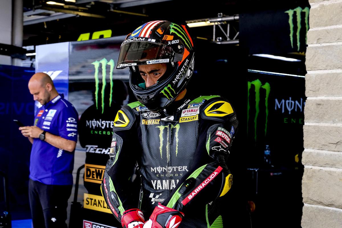 Hafizh Syahrin's MotoGP helmet – 'Stripes of Glory'