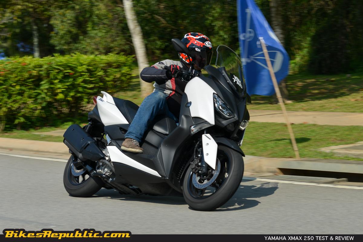 2018 Yamaha XMAX 250 Test & Review - BikesRepublic