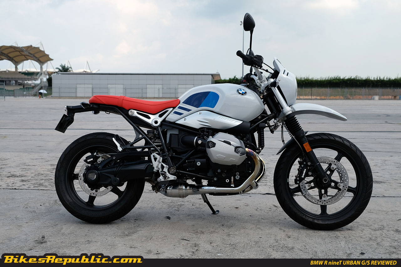 bmw r ninet urban g s the coolest wildest retro bike you can buy now. Black Bedroom Furniture Sets. Home Design Ideas