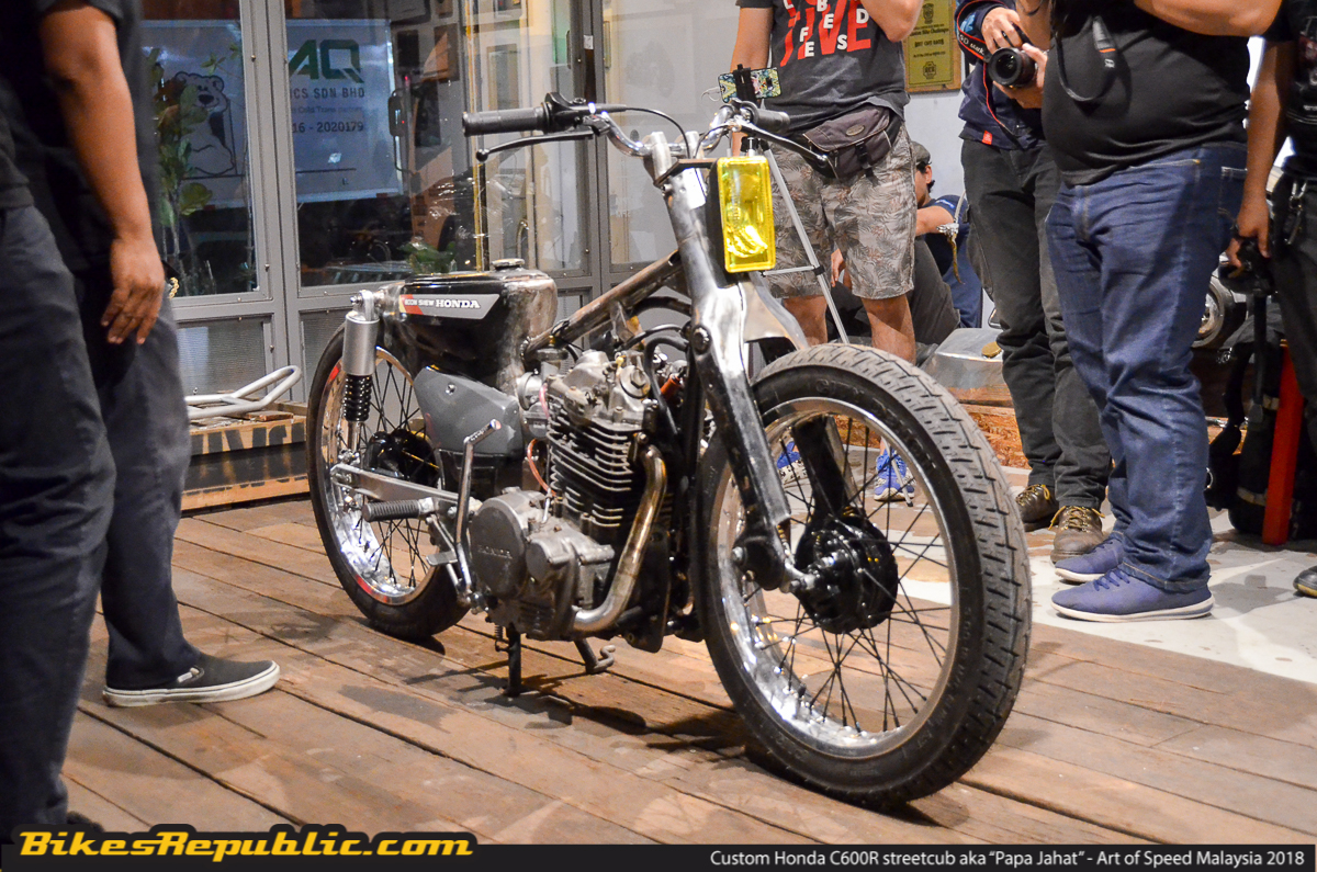 Win A Custom 600cc Honda C70 At Art Of Speed Malaysia 2018 Foto For This Years Event Happening The End Month 28 And 29 July Theyve Decided To Go Old School But With One Hell Major Upgrade