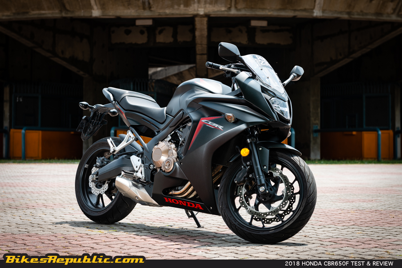 2018 honda cbr650f test review between two worlds. Black Bedroom Furniture Sets. Home Design Ideas