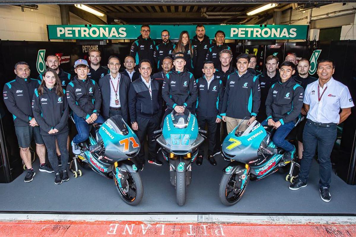 Motogp Petronas Sic Confirms 2019 Rider Line Up Bikesrepublic