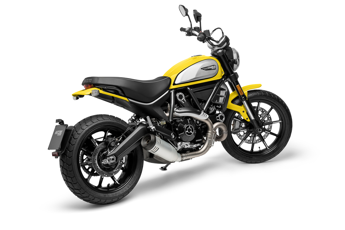 Ducati Scrambler Suspension Change