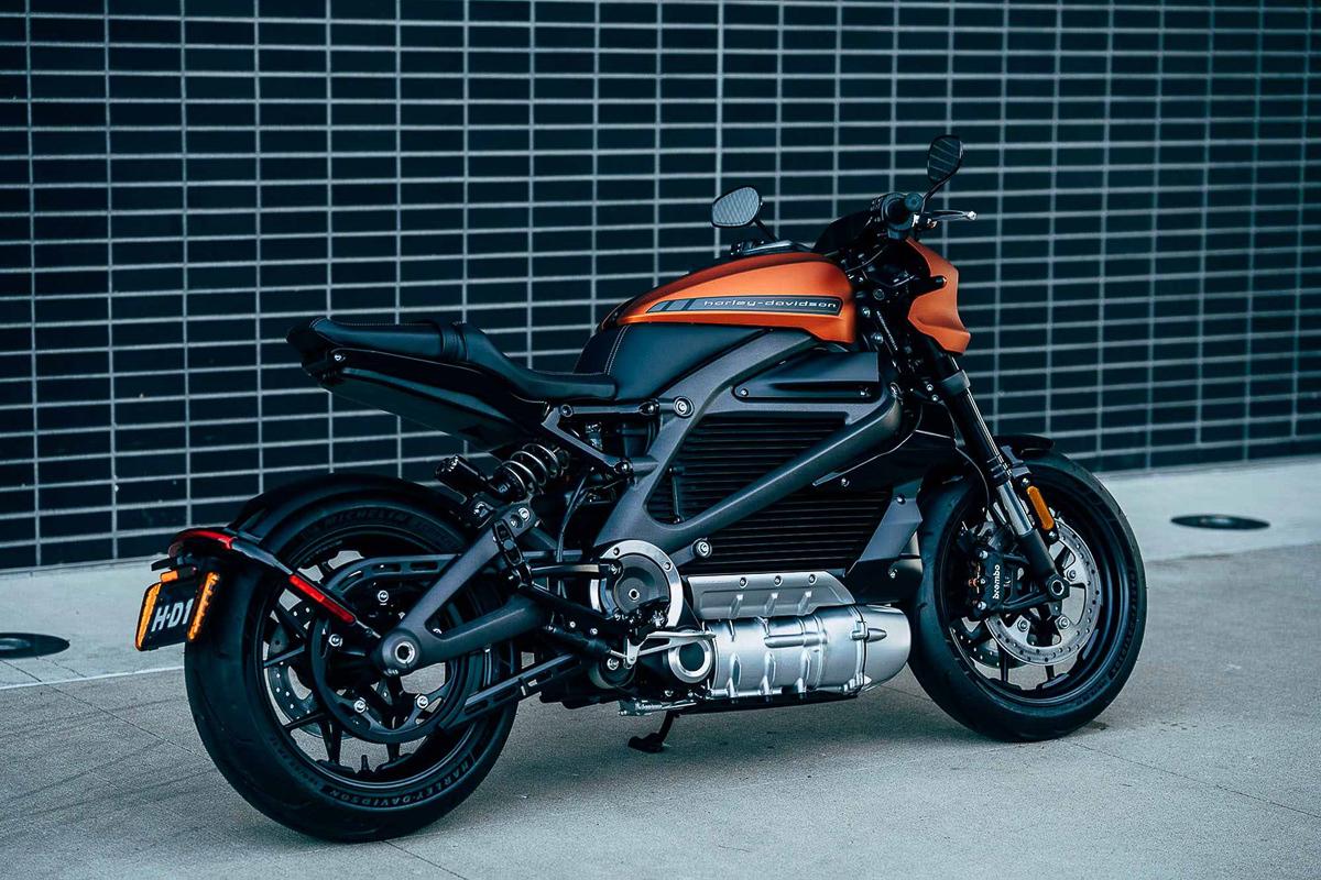First Look 2019 Harley Davidson Livewire Electric Cruiser