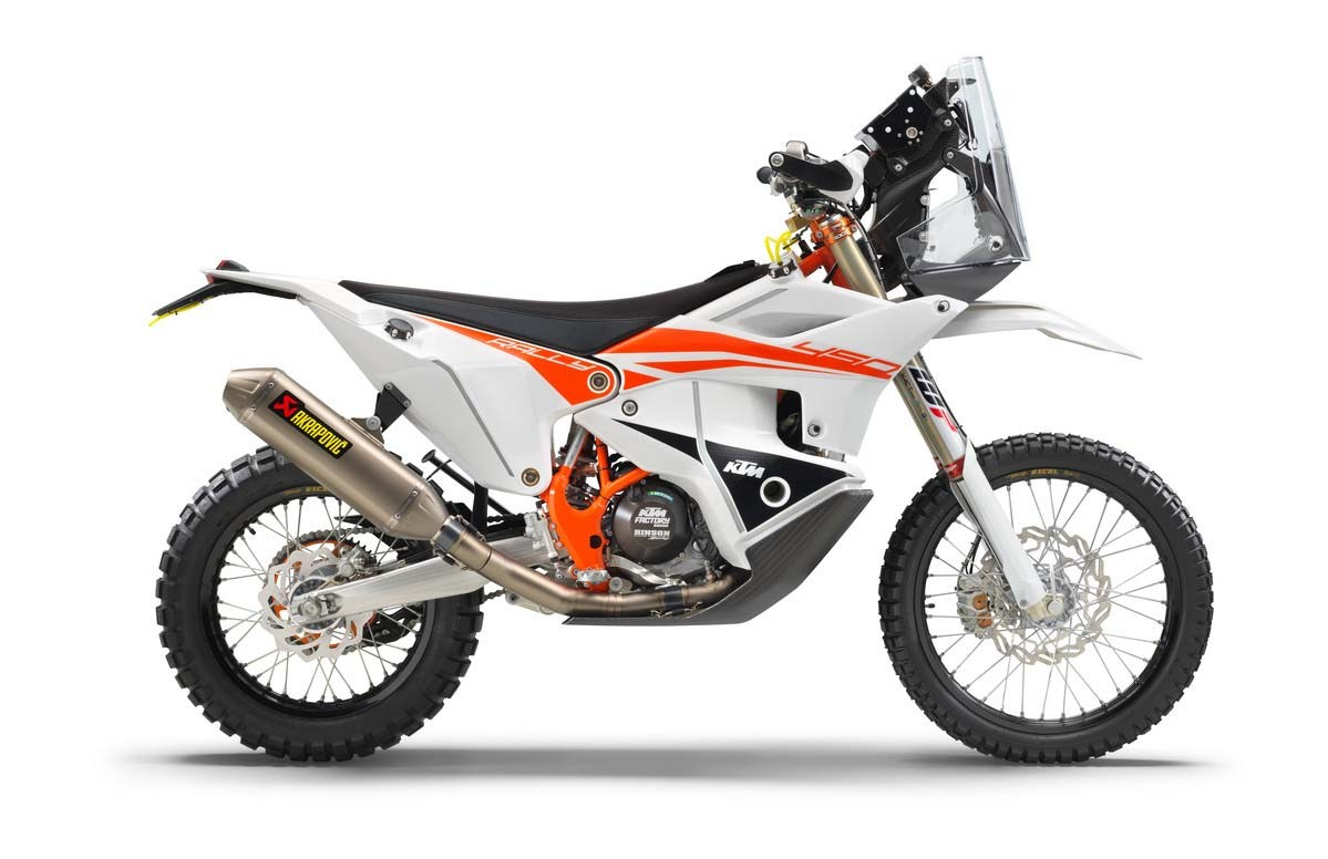 2019 ktm 450 rally replica for your rally aspirations bikesrepublic. Black Bedroom Furniture Sets. Home Design Ideas