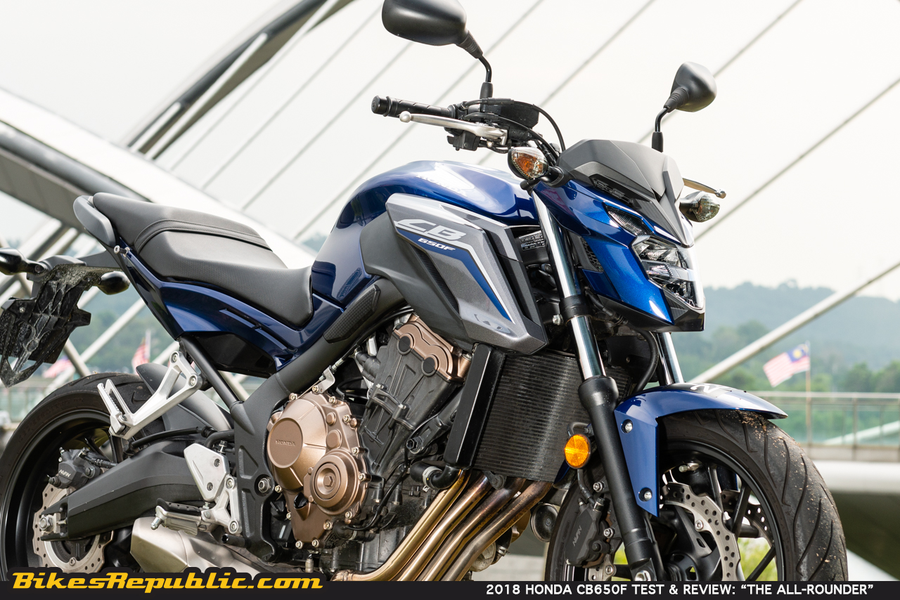 2018 Honda Cb650f Test Amp Review The All Rounder