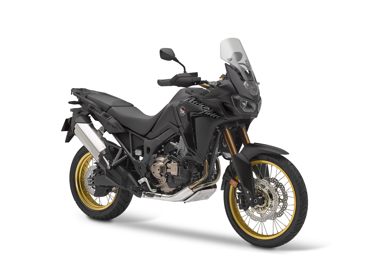 new colour for 2018 honda africa twin matt ballistic black metallic bikesrepublic. Black Bedroom Furniture Sets. Home Design Ideas