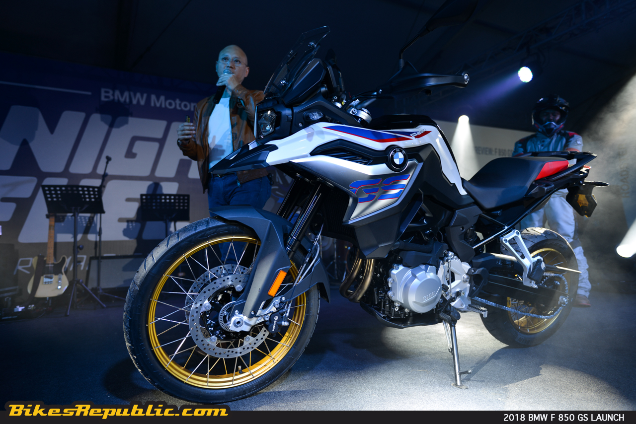2018 bmw f 850 gs debuts at bmw motorrad nightfuel johor. Black Bedroom Furniture Sets. Home Design Ideas