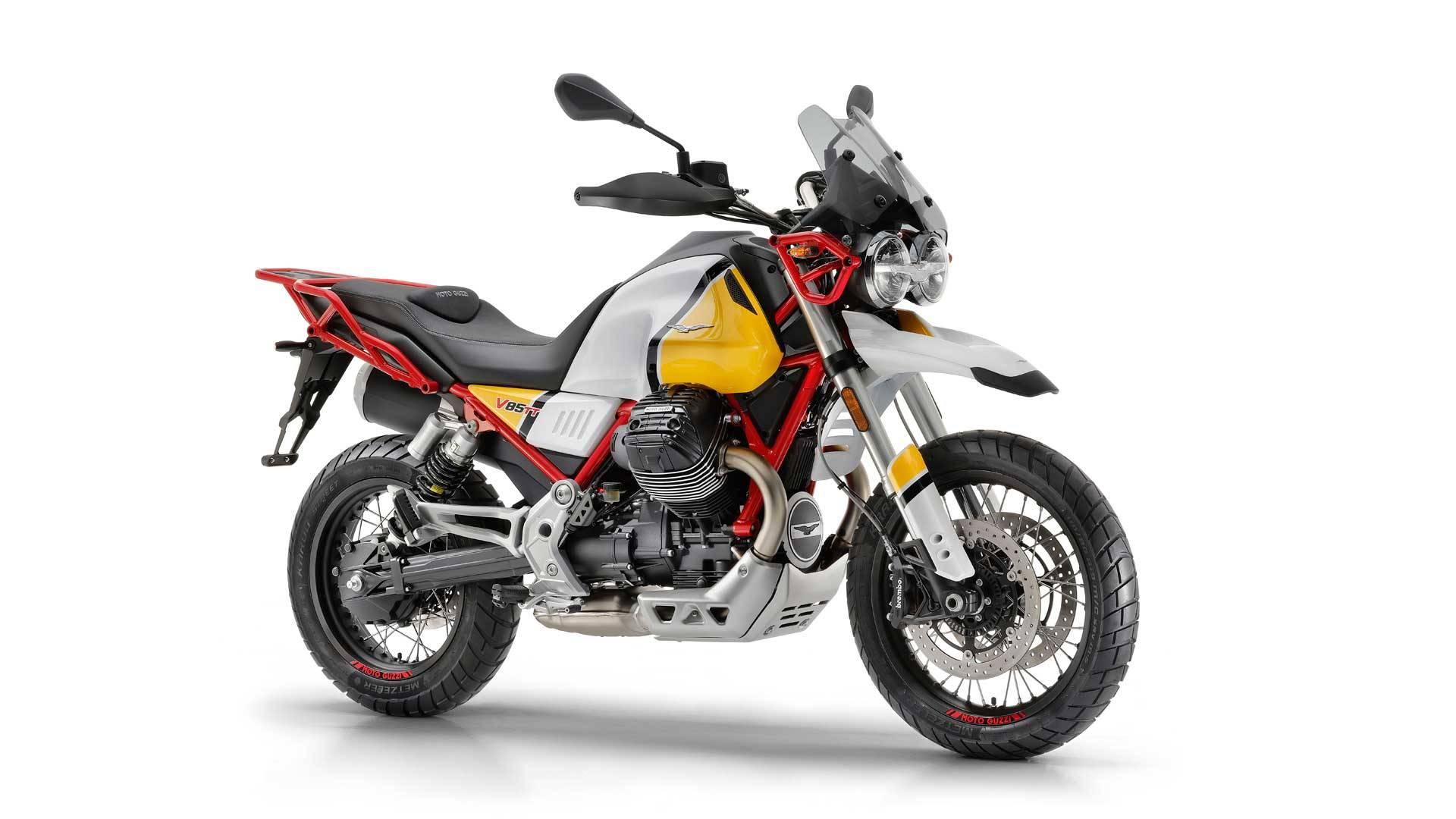 2019 moto guzzi v85 tt price revealed in america bikesrepublic. Black Bedroom Furniture Sets. Home Design Ideas