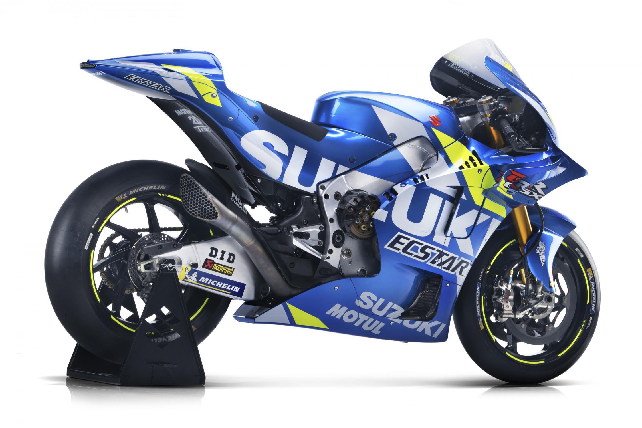 MotoGP 2019: Team Suzuki Ecstar Reveals 2019 Suzuki GSX-RR - BikesRepublic