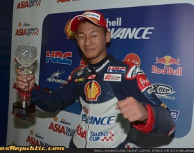 Shell Advance Asia Talent Cup Rd. 6: Toba wins title