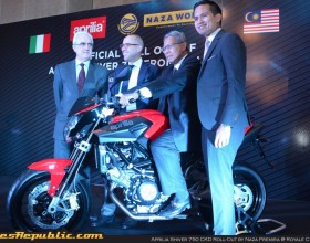 Aprilia Shiver 750 CKD launched at RM43,888 nett