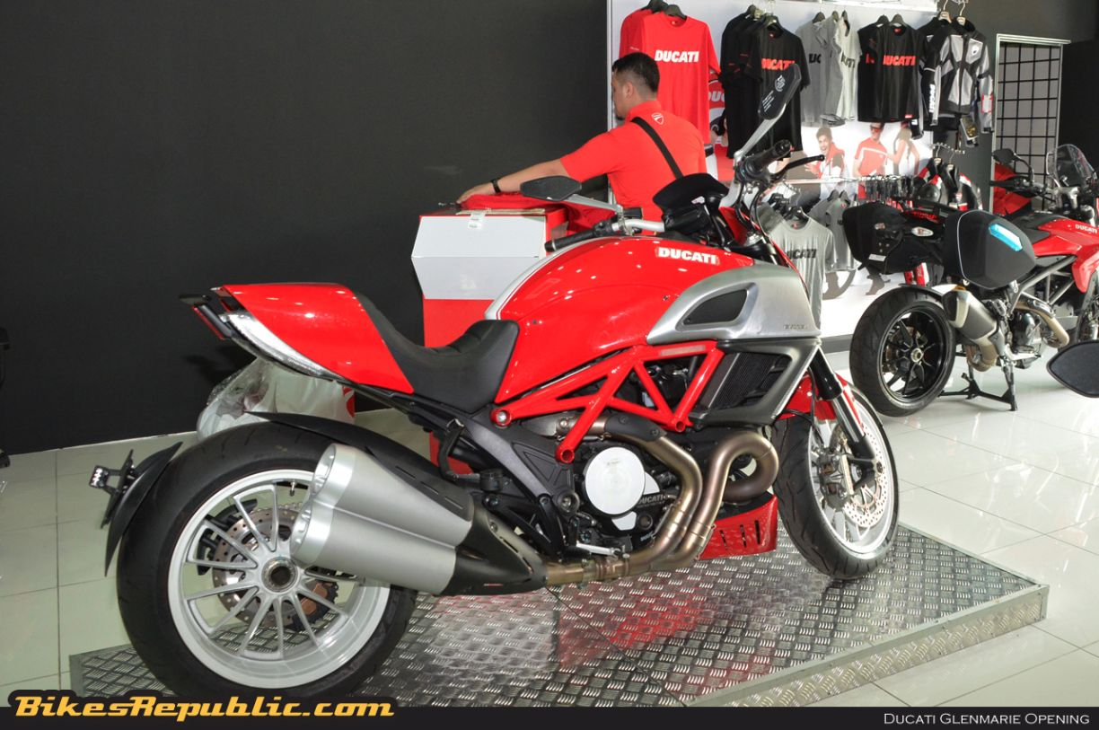 New Ducati Glenmarie outlet opens its doors