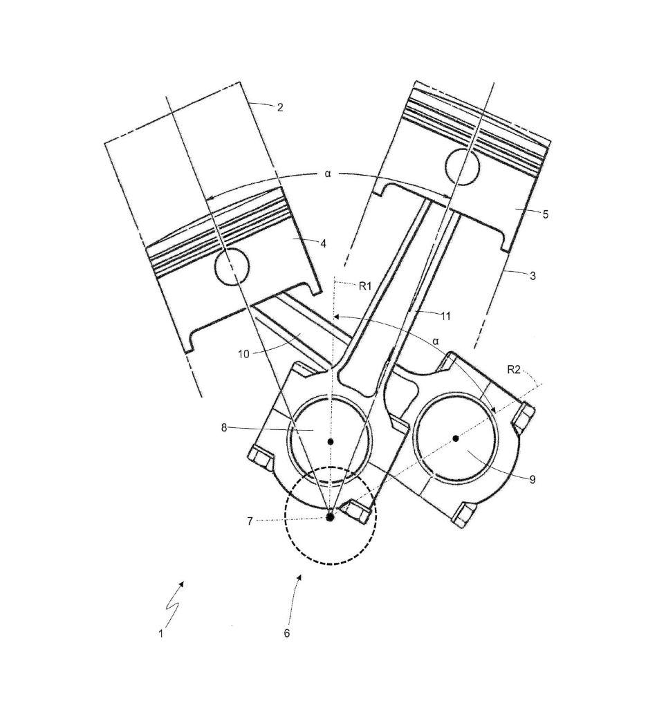 Ferrari Bike Patent Surfaces Engine Diagram Motorcycle 02