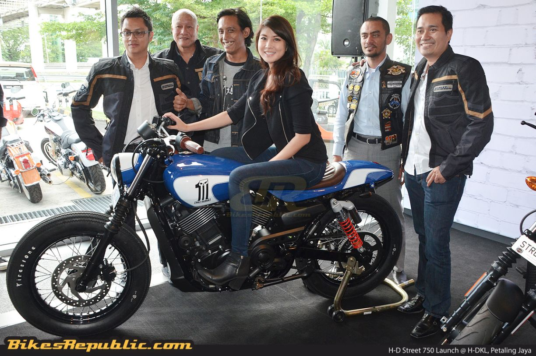 Harley-Davidson Street 750 introduced at RM62,888