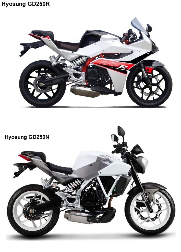 New Hyosung 250cc Sports Coming Soon