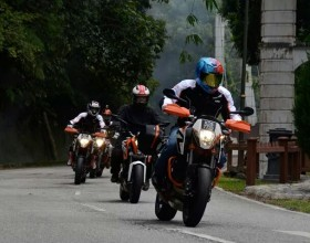 KTM CKD Five Mountain Santai Ride – Day Three and Four