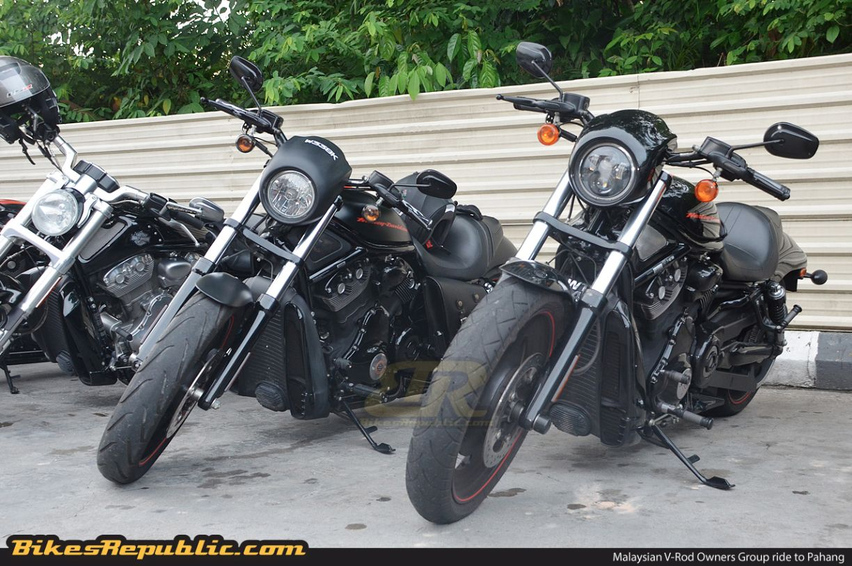 An outing with the Malaysian V-Rod Owners Group