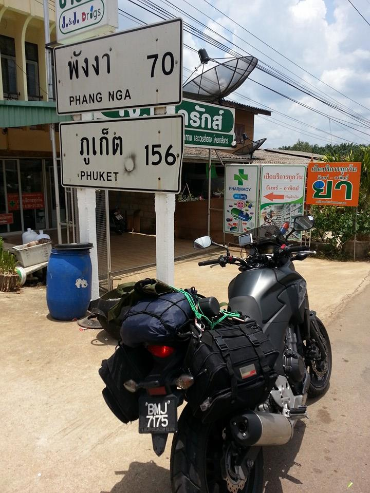 Why fly when you can ride to Krabi
