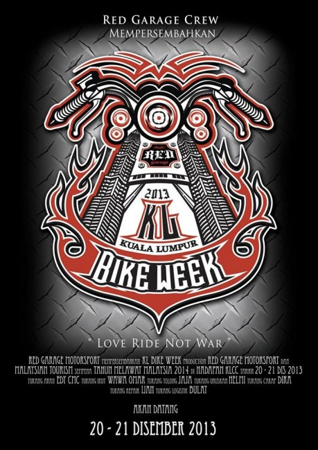 KL Bike Week 2013 Poster