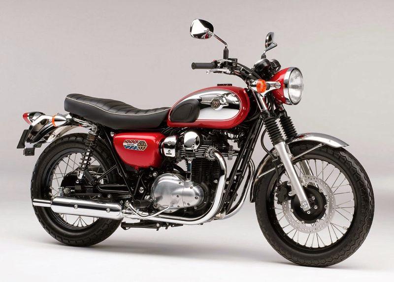 Kawasaki W800 Chrome Edition 2014 01