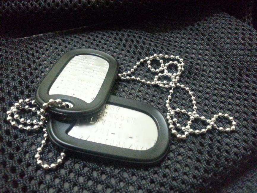 military tag
