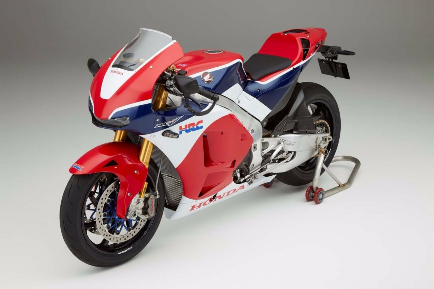 Honda RC213V-S in detail