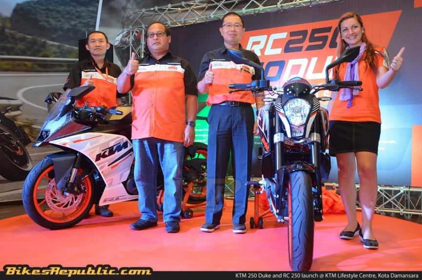 KTM 250 Duke and RC 250 launched – From RM17,888 and RM18,888!