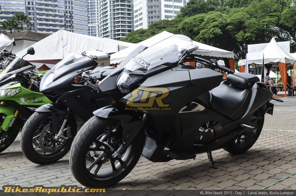 Current generation Honda NM4 Vultus @ KL Bike Week 2015