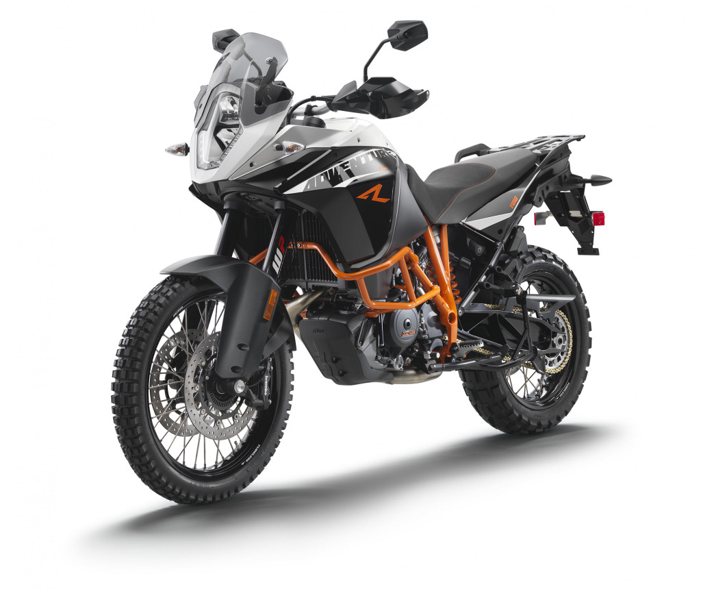 Current KTM 1190 Adventure R.