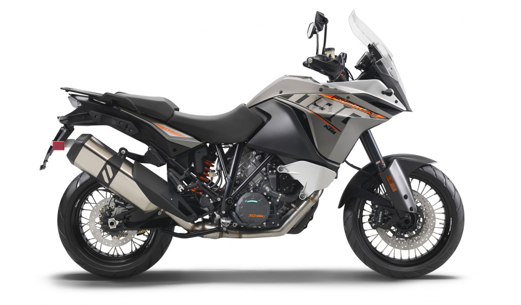 This is how the current KTM 1190 Adventure looks like.