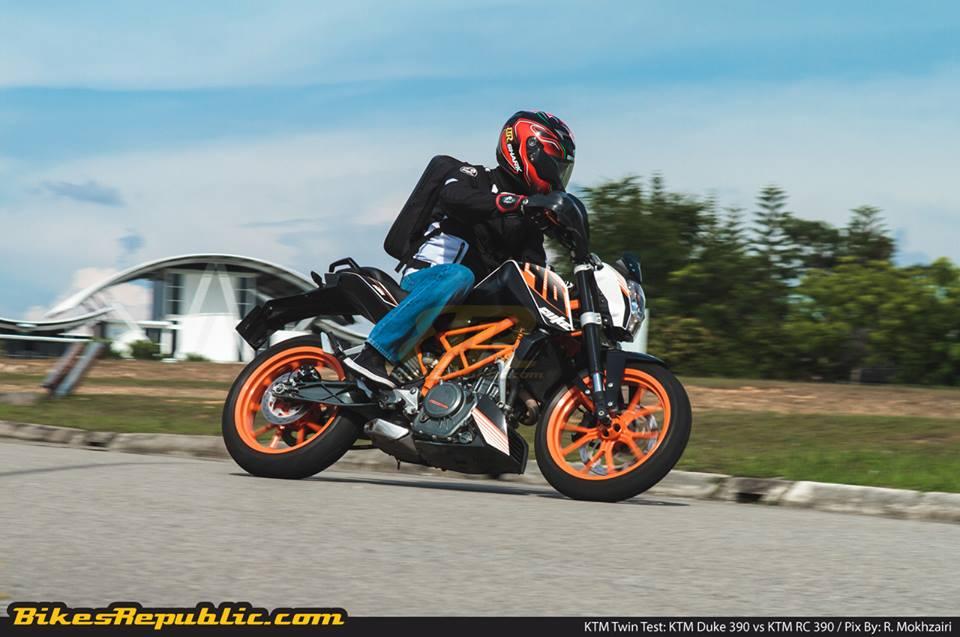 KTM 390 Duke Twin Test