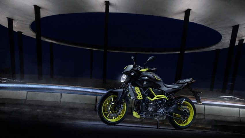 Yamaha MT-07 Moto Cage Night Fluo4
