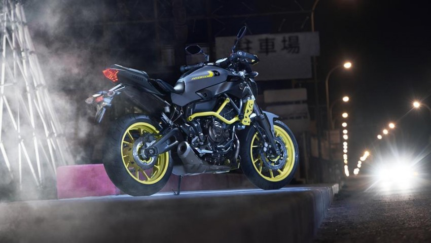 Yamaha MT-07 Moto Cage Night Fluo7
