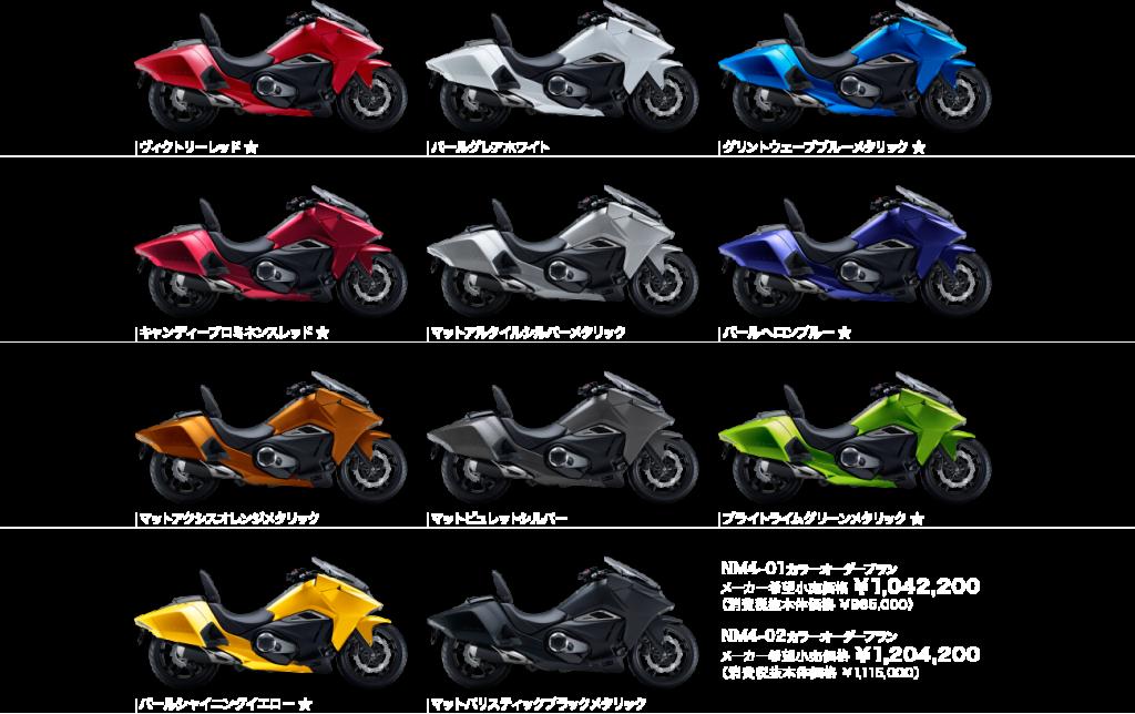 2016 Honda NM4 Vultus new colours