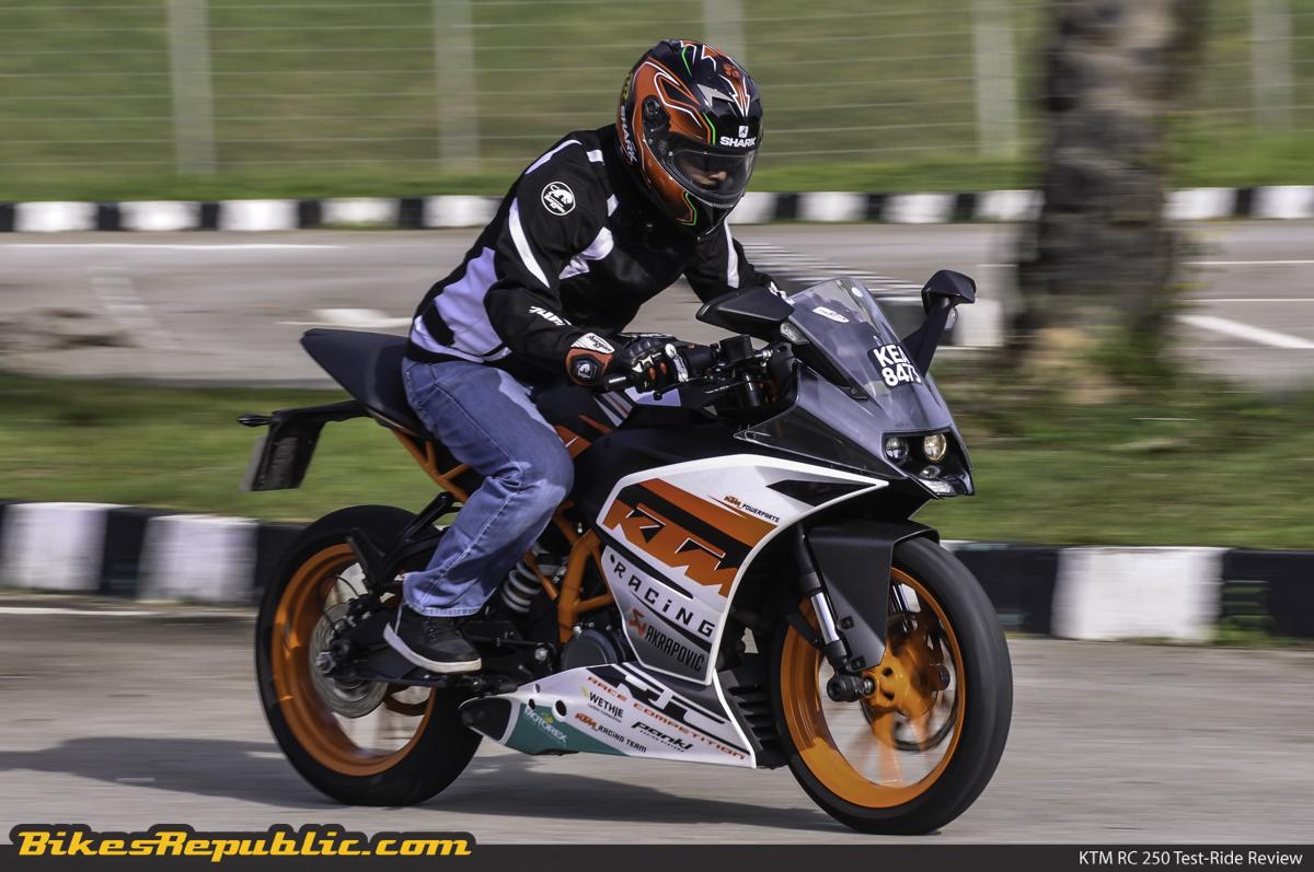 KTM RC 250: YOUR FIRST SPORTS BIKE - BikesRepublic