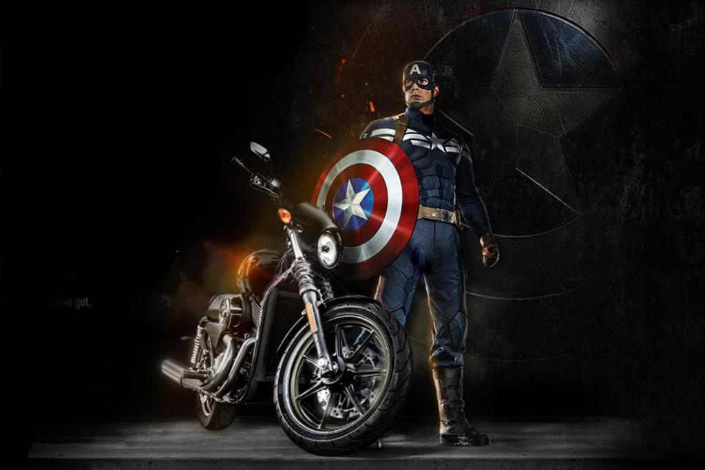 H-D_Street_750_Captain_America