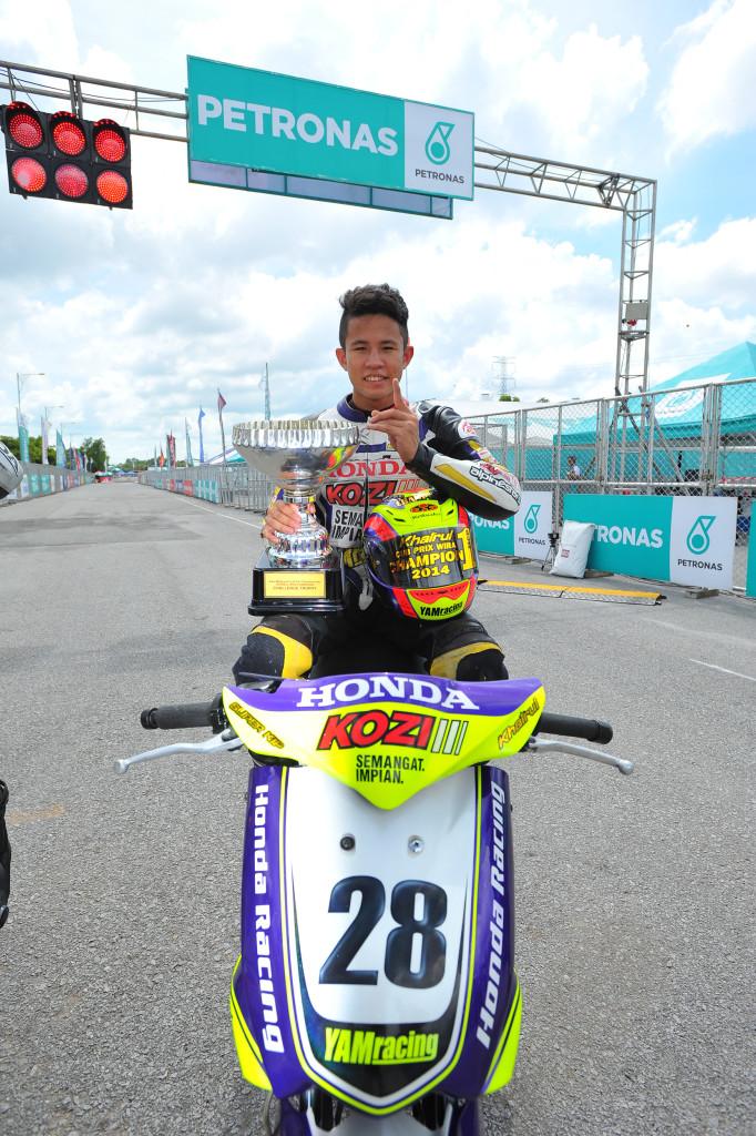Khairul Idham won Wira title in 2014