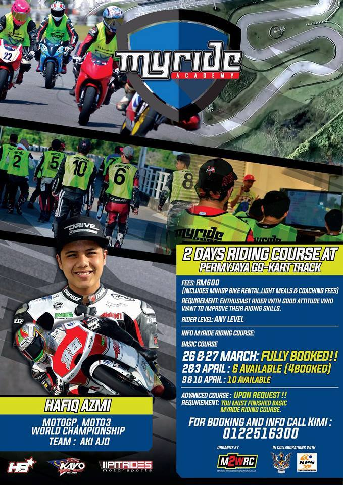 MyRide Riding Course E-Flyer
