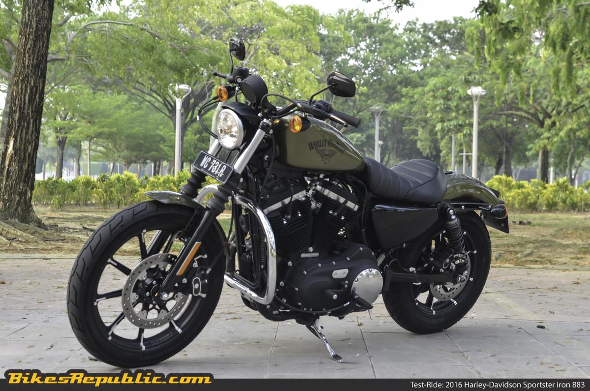Test-ride: 2016 Harley-Davidson Sportster Iron 883