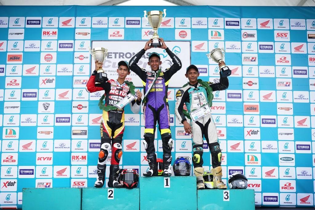 CP115 podium